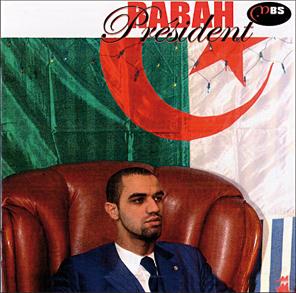 """""""Рабах за президент"""" (Рабах Урад пародира алжирския президент Бутефлека)"""